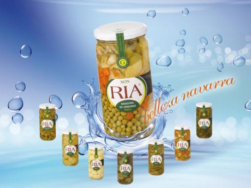 Conservas Ria – alimentaria 2018 verdura