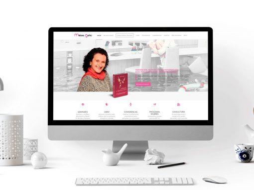 Página web – Melania Garbú
