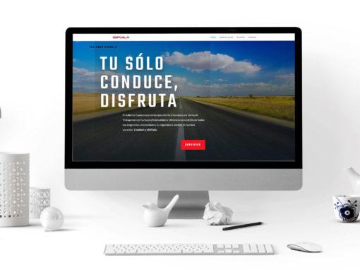 Talleres Espuela – Diseño web